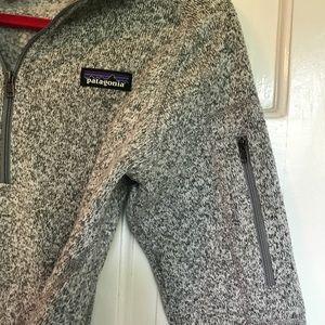 Women's S Patagonia Better Sweater 1/4-Zip Fleece